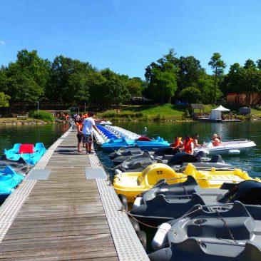 Location bateaux électriques à Ile de loisirs de Cergy