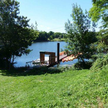 Location de bateaux électriques Ile de loisirs de Port aux Cerises