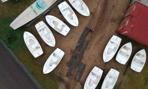 Hivernage bateaux électriques