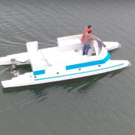 Location de bateau accompagnateur, sécurité